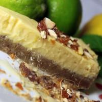 Comida torta lima